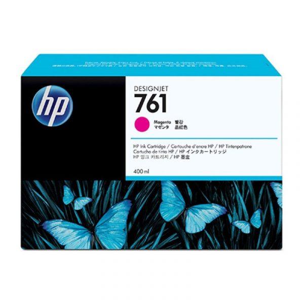 HP - 761 400ml Magenta Ink Cartridge [CM993A]