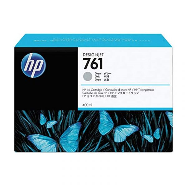 HP - 761 400ml Gray Ink Cartridge [CM995A]