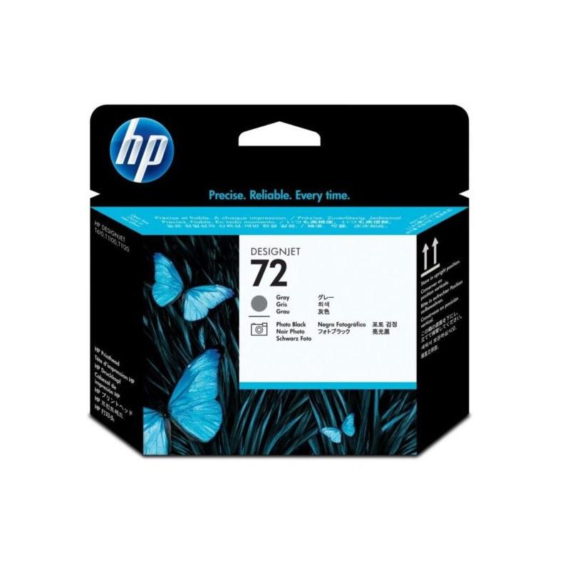 HP - 72 Gray / Photo Black Printhead [C9380A]