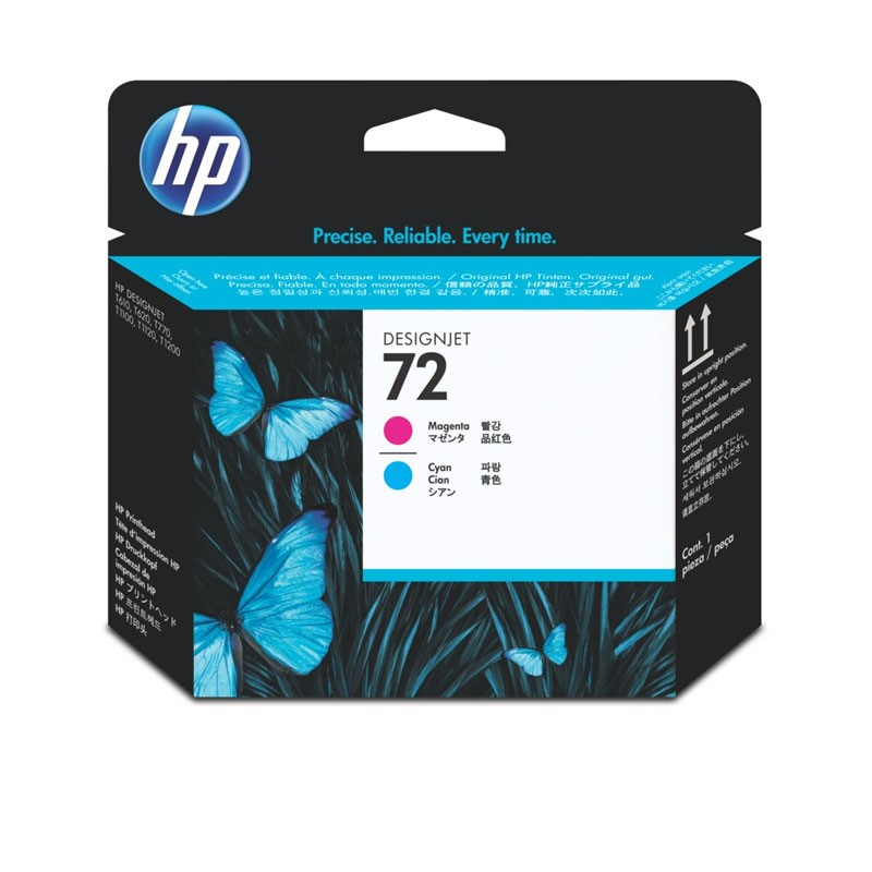 HP - 72 Magenta / Cyan Printhead [C9383A]