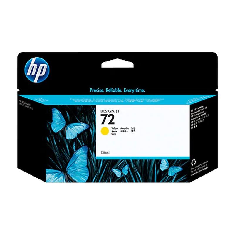 HP - 72 130ml Yellow Ink Cartridge [C9373A]
