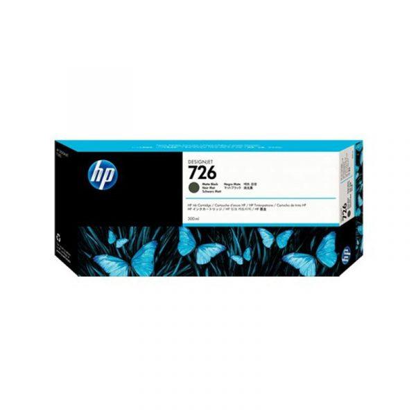 HP - 726 300ml Matte Bk Designjet Ink Crtg [CH575A]