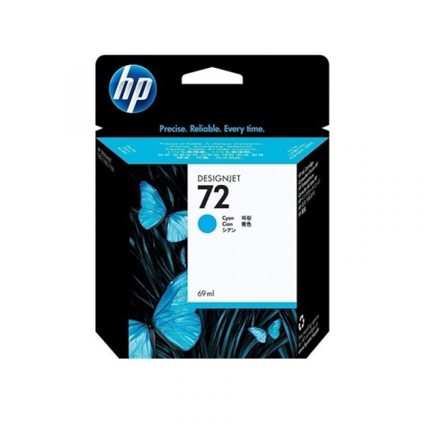 HP - 72 69ml Cyan Ink Cartridge [C9398A]