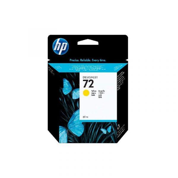 HP - 72 69ml Yellow Ink Cartridge [C9400A]