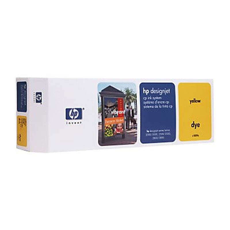 HP - DesignJet CP Ink System, Yellow [C1809A]