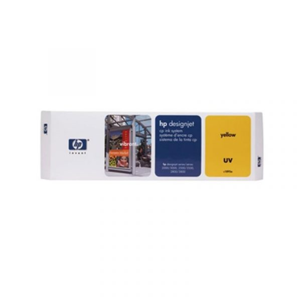 HP - DesignJet CP Ink System UV Yellow [C1895A]