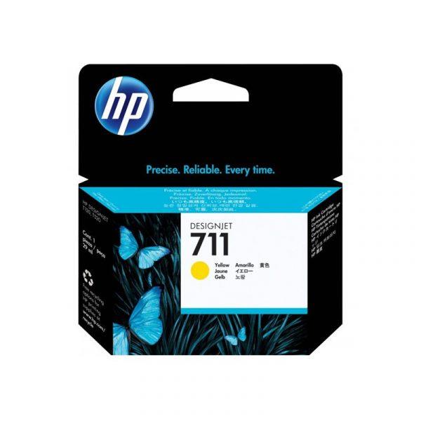 HP - 711 29-ml Yellow Ink Cartridge [CZ132A]