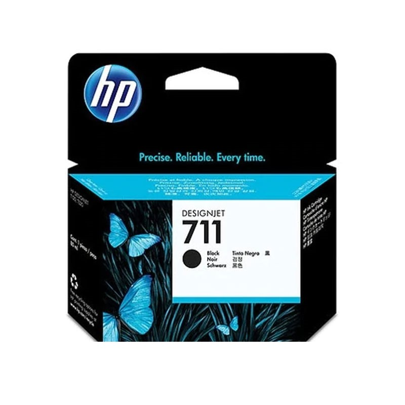HP - 711 80-ml Black Ink Cartridge [CZ133A]