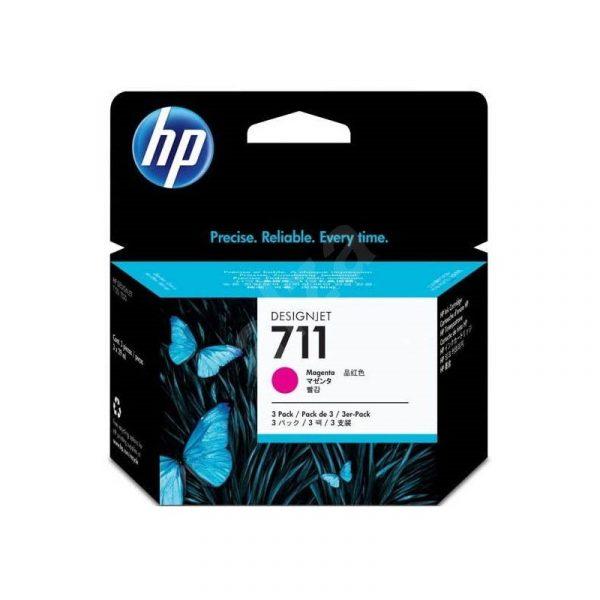 HP - 711 3-Pack 29-ml Mag Ink Cartridge [CZ135A]
