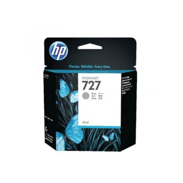 HP - 727 40-ml Gray Ink Cartridge [B3P18A]
