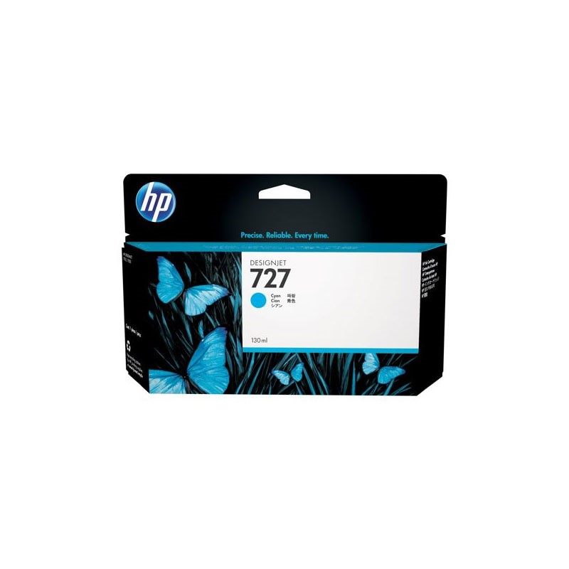 HP - 727 130-ml Cyan Ink Cartridge [B3P19A]