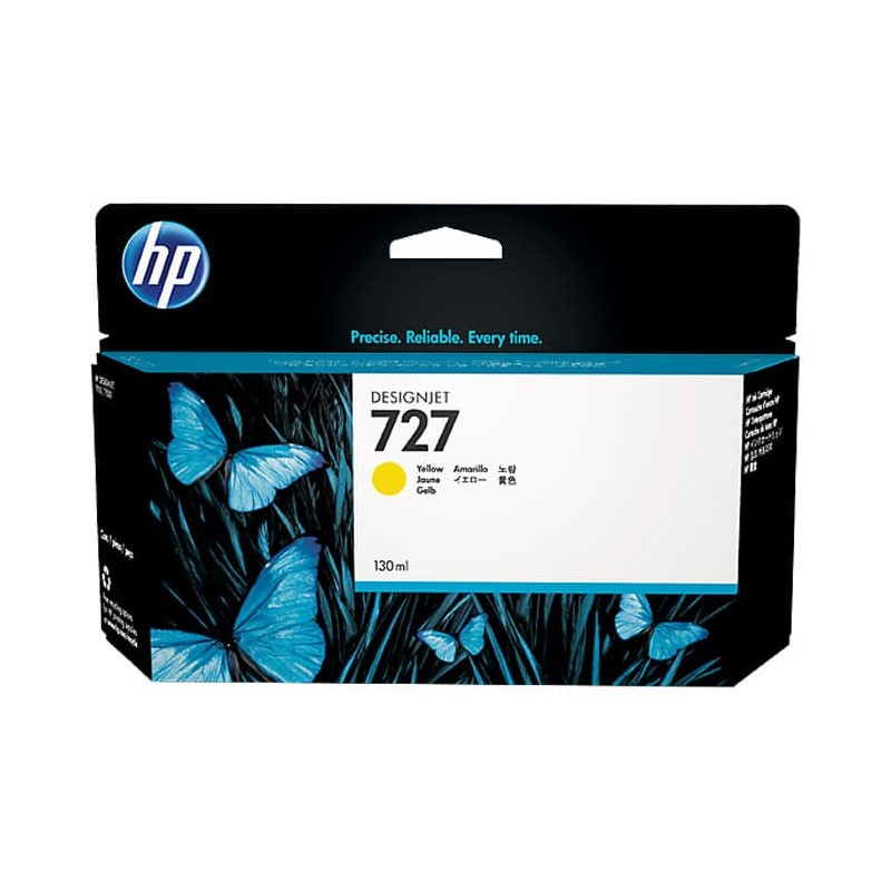 HP - 727 130-ml Yellow Ink Cartridge [B3P21A]