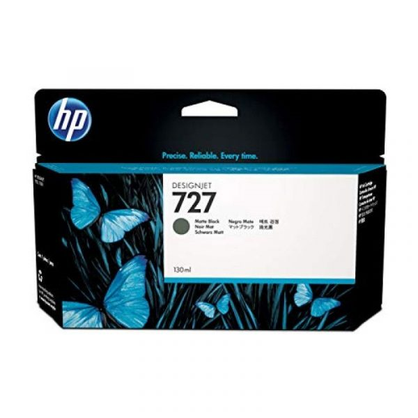 HP - 727 130-ml Matte Black Ink Cartridge [B3P22A]