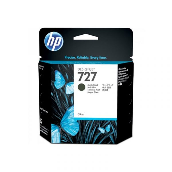HP - 727 69-ml Matte Black Ink Cartridge [C1Q11A]