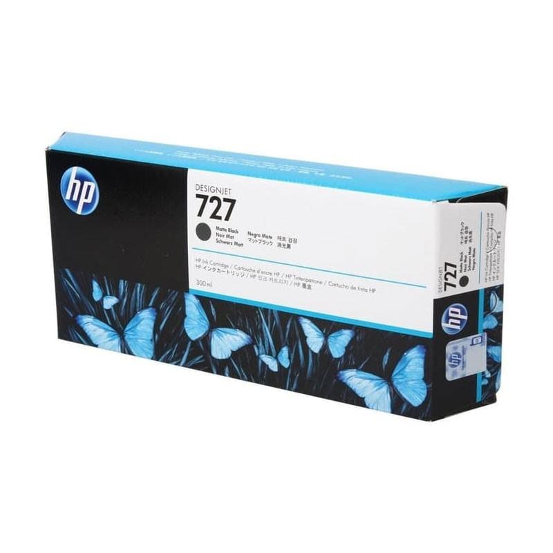 HP - 727 300-ml Matte Black Ink Cartridge [C1Q12A]
