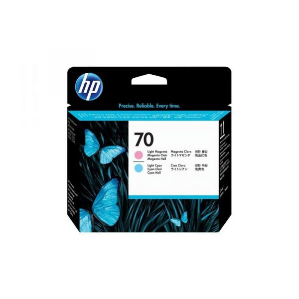 HP - 70 LT Cyan and LT Magenta Printhead [C9405A]