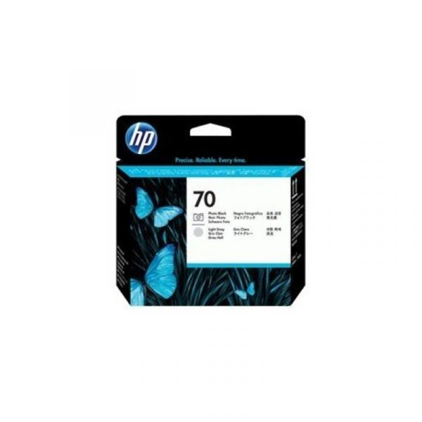 HP - 70 Photo Black and LT Gray Printhead [C9407A]