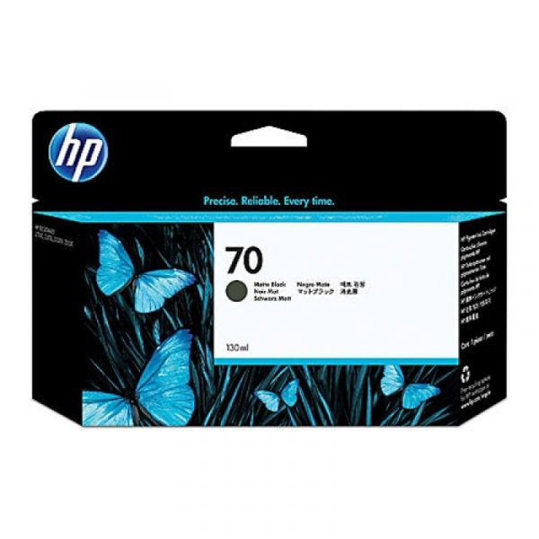 HP - 70 Matte Black 130 ml Ink Cartridge [C9448A]