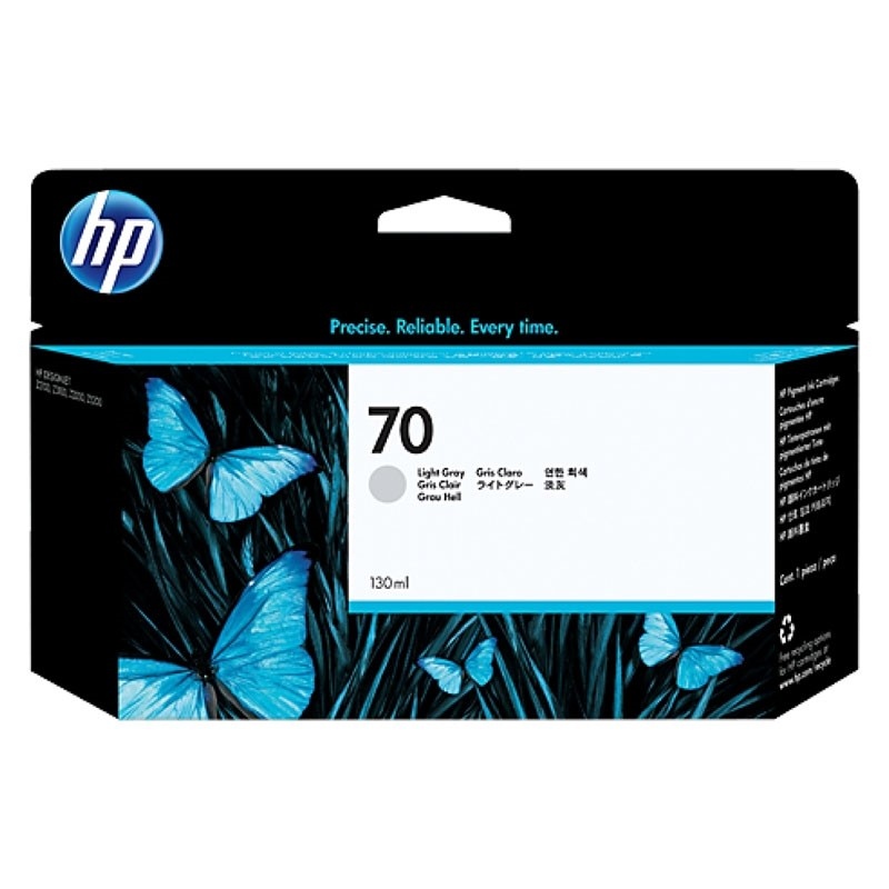 HP - 70 Light Gray 130 ml Ink Cartridge [C9451A]