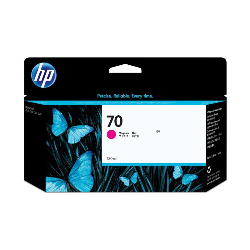 HP - 70 Magenta 130 ml Ink Cartridge [C9453A]