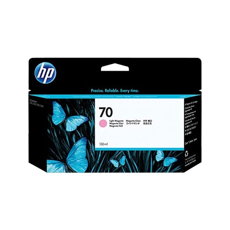 HP - 70 Light Magenta 130 ml Ink Crtg [C9455A]