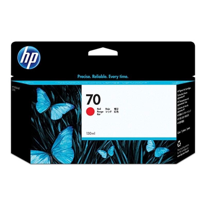 HP - 70 Red 130 ml Ink Cartridge [C9456A]