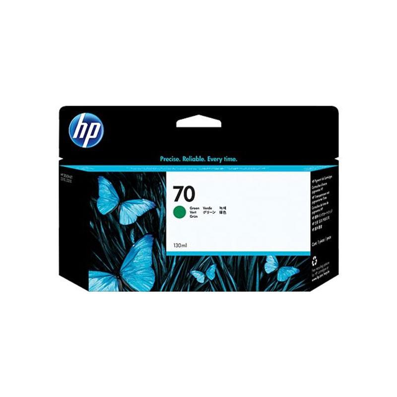 HP - 70 Green 130 ml Ink Cartridge [C9457A]