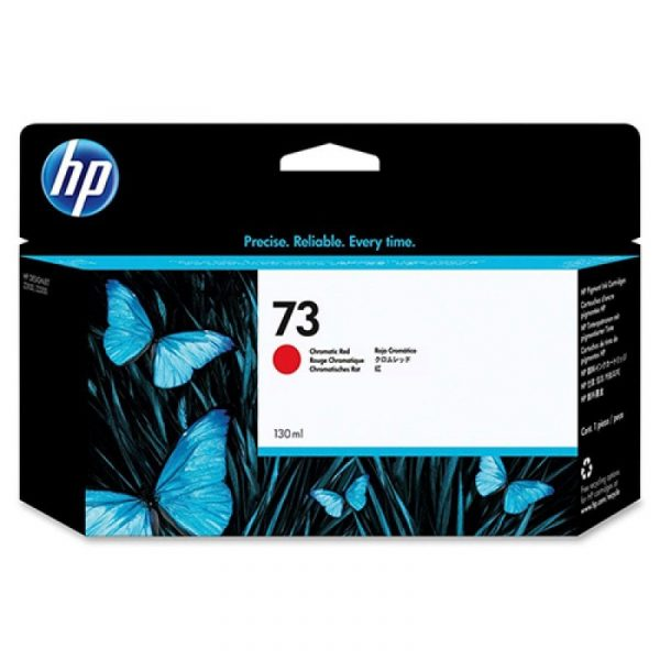 HP - 73 Chromatic Red Ink Cartridge [CD951A]