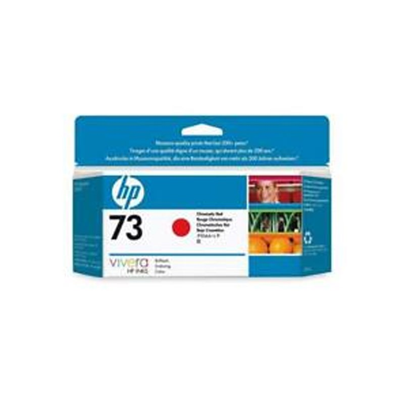 HP - 73 Chromatic Red Ink Crtg Twin Pack [CD952A]