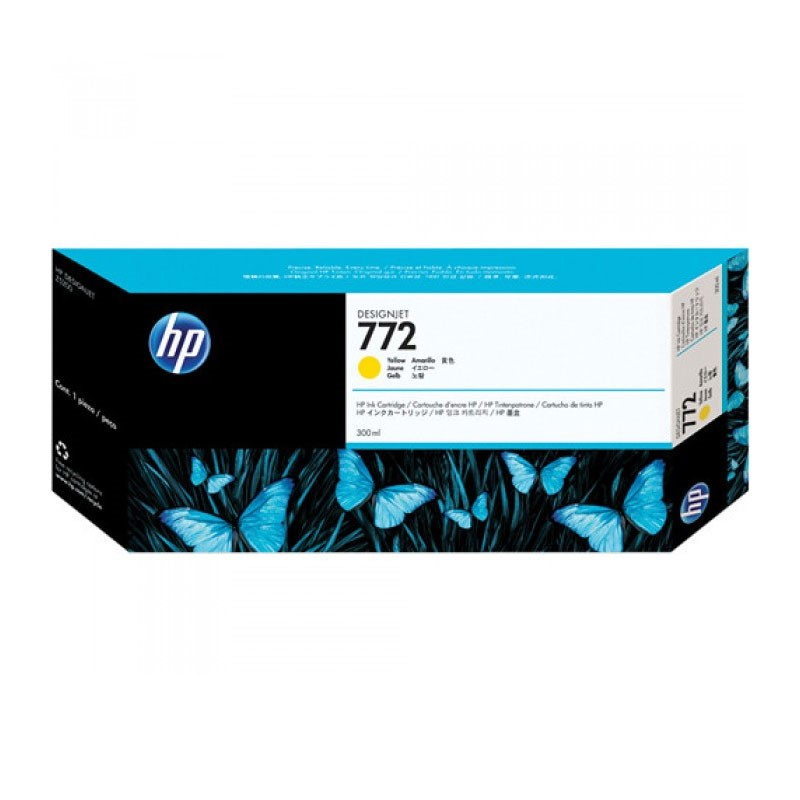 HP - 772 300 ml Yellow Designjet Ink Crtg [CN630A]