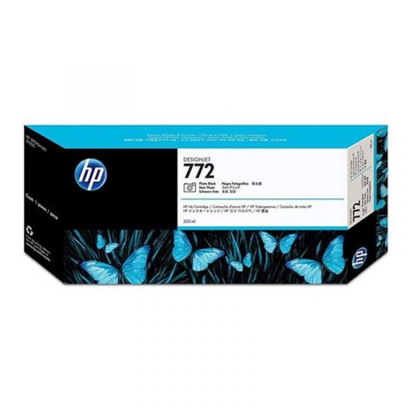 HP - 772 Photo Black 300 ml Ink Cartridge [CN633A]