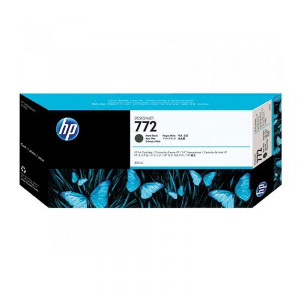 HP - 772 300ml Matt Blk Designjet Ink Crtg [CN635A]