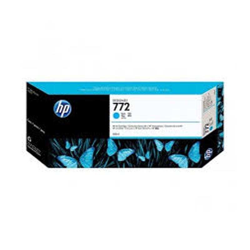 HP - 772 300ml Cyan Designjet Ink Cartridge [CN636A]