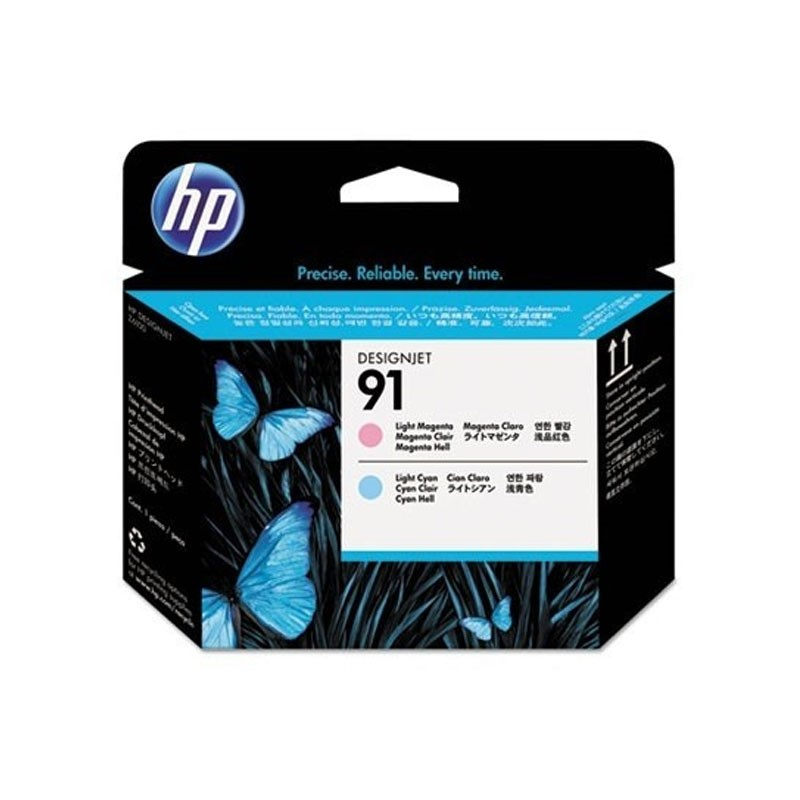 HP - 91 Lt Magenta and Lt Cyan Printhead [C9462A]