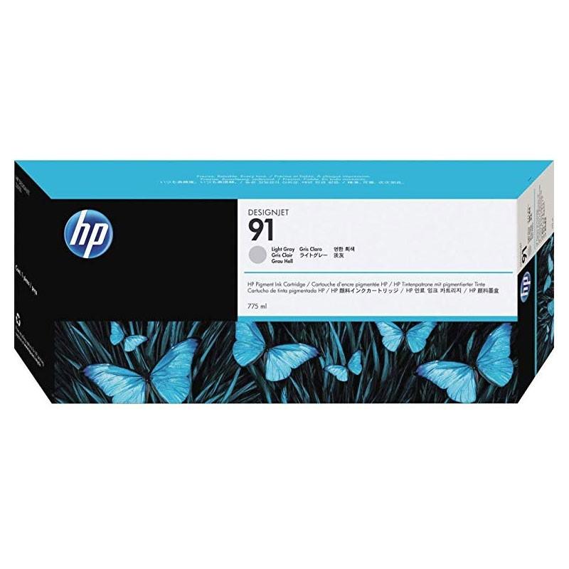 HP - 91 Light Gray 775 ml Ink Cartridge [C9466A]