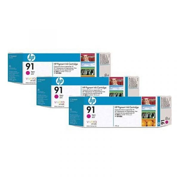 HP - 91 Magenta 3 Ink Multi Pack Printhead [C9484A]