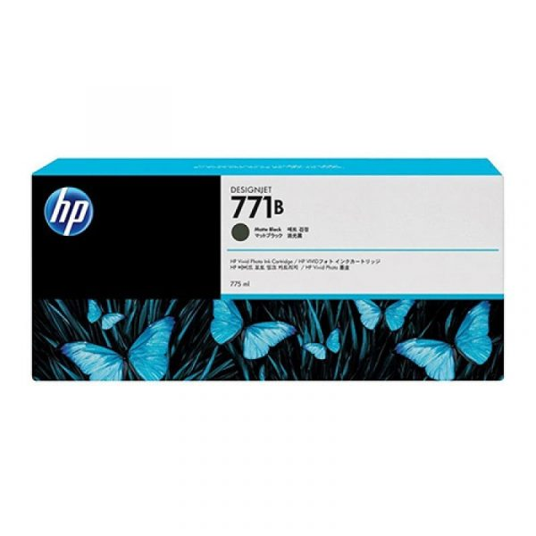 HP - 771B 775ml Matte Black Ink Cartridge [B6X99A]