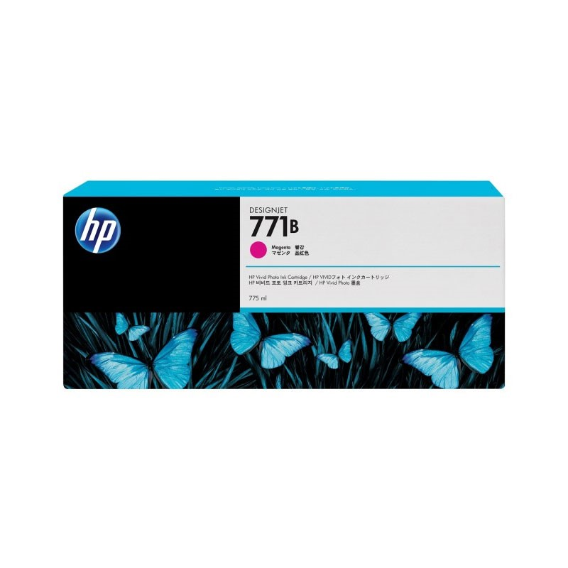 HP - 771B 775ml Magenta Ink Cartridge [B6Y01A]