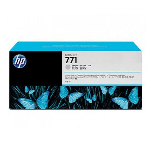 HP - 771B 775ml Light Gray Ink Cartridge [B6Y06A]