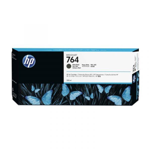 HP - 764 300-ml Matte Black Ink Cartridge [C1Q16A]
