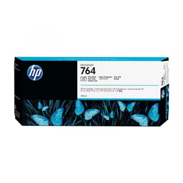 HP - 764 300-ml Photo Black Ink Cartridge [C1Q17A]