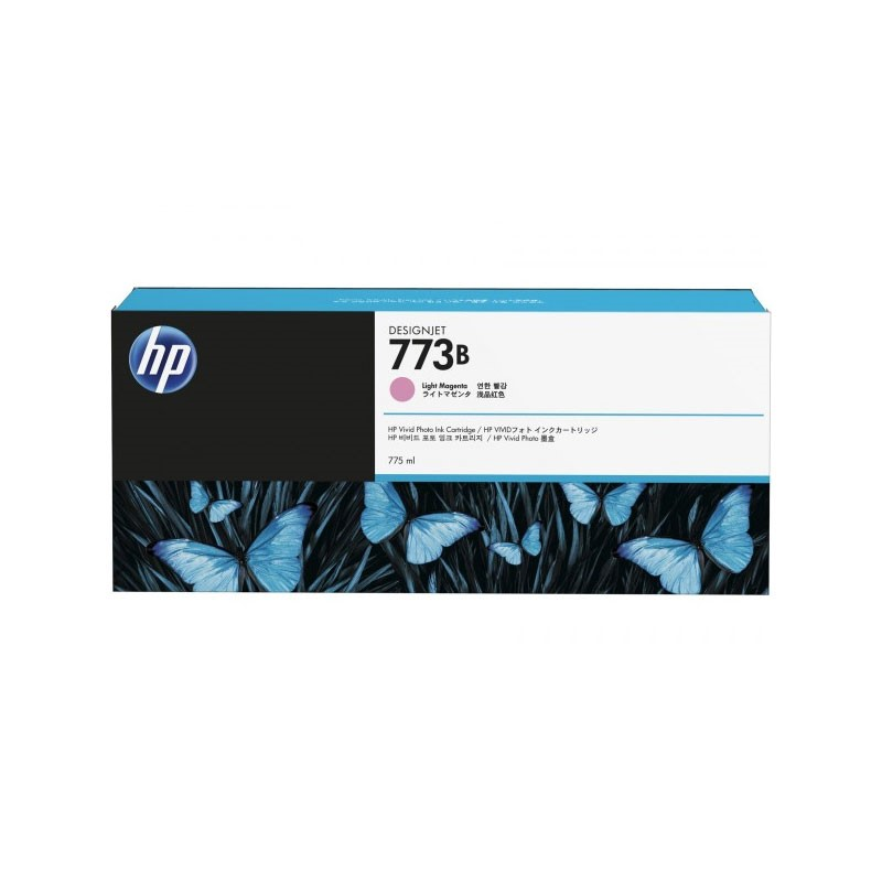 HP - 773B 775-ml Lt Magenta Ink Cartridge [C1Q33A]