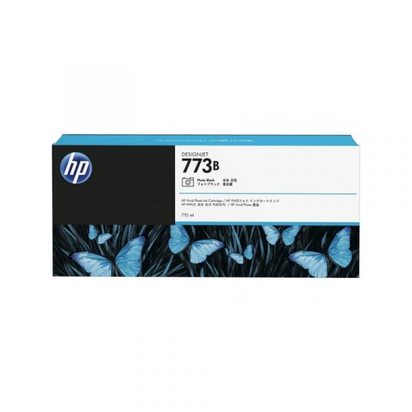 HP - 773B 775-ml Photo Black Ink Cartridge [C1Q35A]