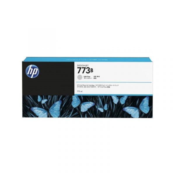 HP - 773B 775-ml Light Gray Ink Cartridge [C1Q36A]