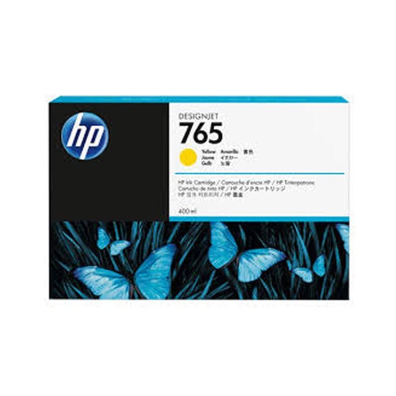 HP - 765 400-ml Yellow Ink Cartridge [F9J50A]