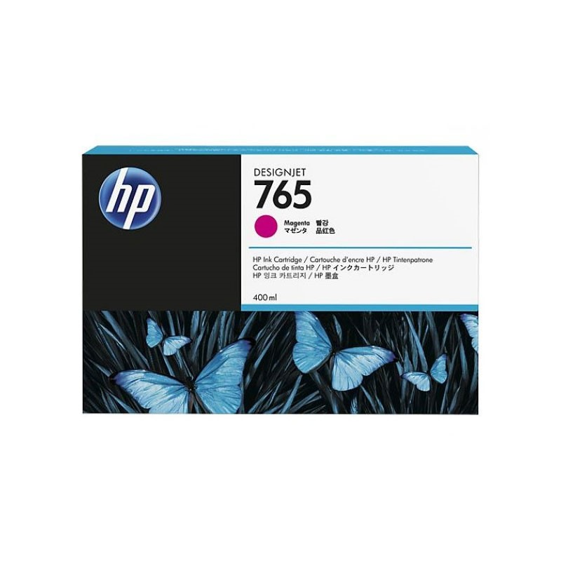 HP - 765 400-ml Magenta Ink Cartridge [F9J51A]