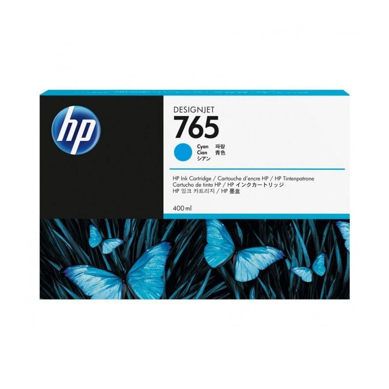 HP - 765 400-ml Cyan Ink Cartridge [F9J52A]