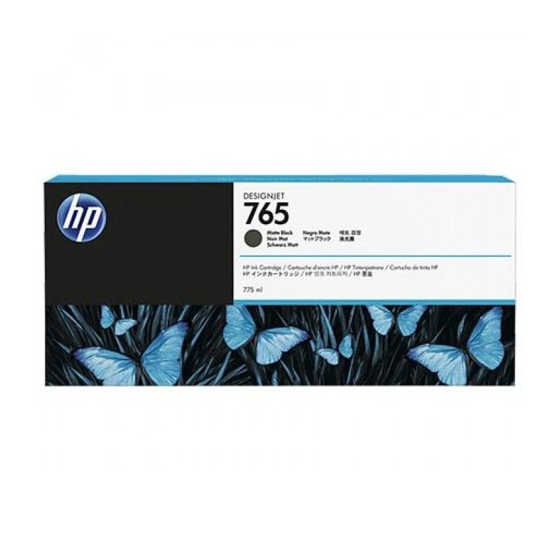 HP - 765 775-ml Matte Black Ink Cartridge [F9J55A]