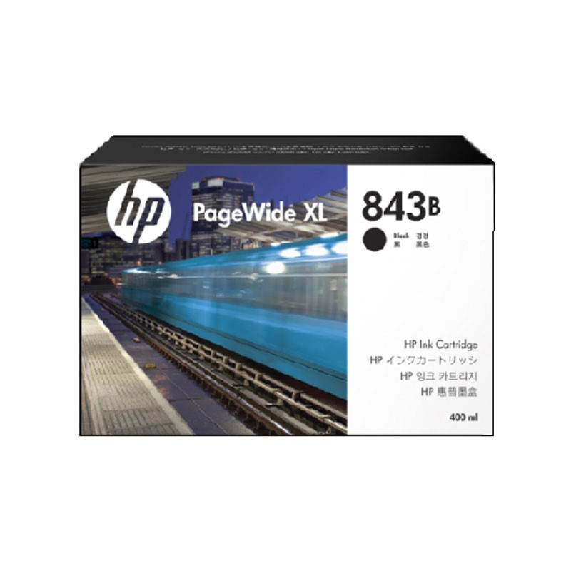 HP - 843B 400-ml Black Ink Cartridge [C1Q61A]