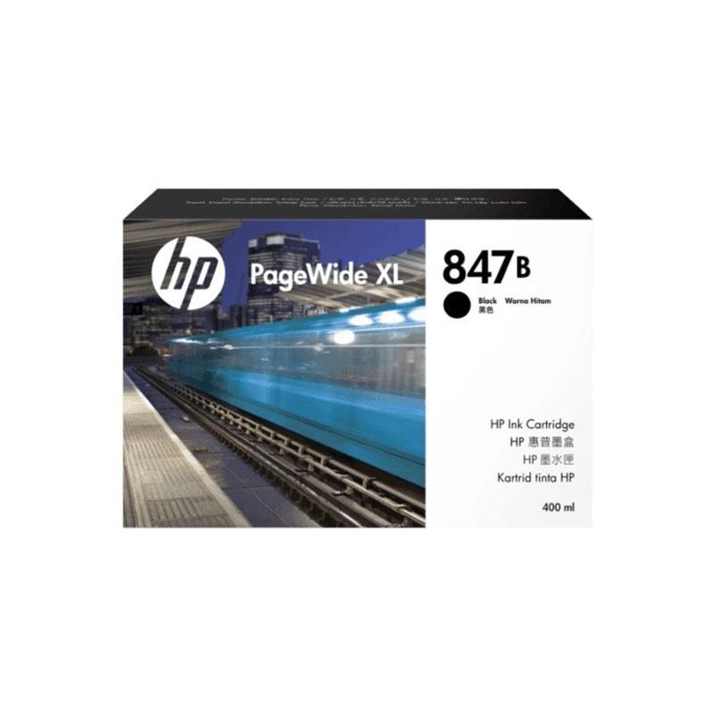 HP - 847B 400-ml Black Ink Cartridge [F9J72A]